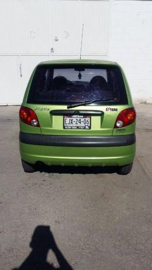 matiz  manual con ac en buen estado