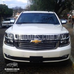 Blindada Chevrolet Suburban paquete D LTZ Blindado
