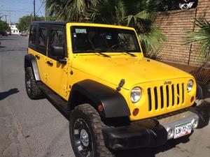 Jeep Wrangler Unlimited X Amarillo 4x