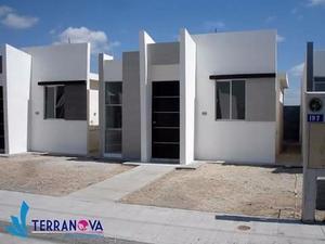 Casas Nuevas desde $270 Mil Fracc. Terranova