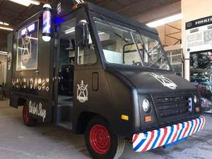 Food Truck Barber Truck Barber Móvil Chevrolet Vanette
