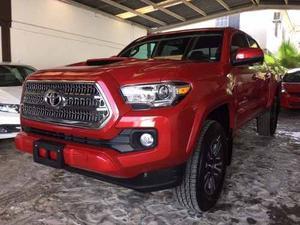 Toyota Tacoma 4x, Rojo Nueva Sin Rodar