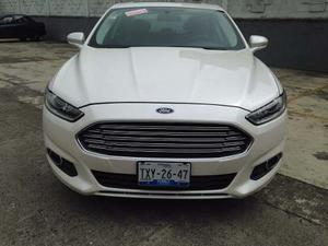 Ford Fusion Se Lux Plus, Motor 2.0l,t/a, , Blanco, 4ptas