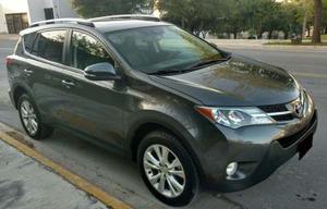 Toyota Rav4 Limited Platinum