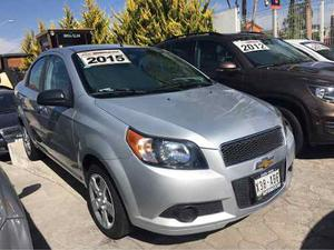 Chevrolet Aveo  Lt Aut Mp3 Bt R15 A/ac Impecable