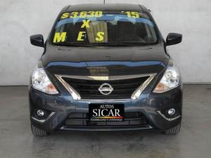 Nissan Versa Sense Ta