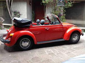 Vw Super Beetle Convertible  Perfecto Estado
