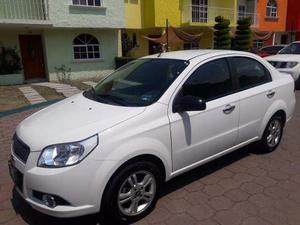 Chevrolet, Aveo, Motor 1.6l, , Blanco.
