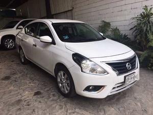 Nissan Versa Advance , Un Dueño, Factura De Agencia