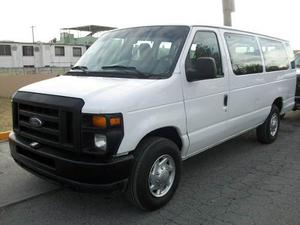 Ford Econoline E-350 Xl 15 Pasajeros Mod.