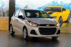 Chevrolet Spark Ng Automático Blanco