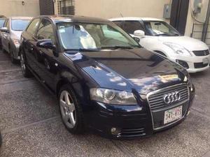 Audi A3 Attraction Plus 2.0 Turbo 200 Hpptas. Azul,