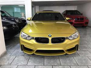 Bmw M4 Amarillo  Piel Quemacocos