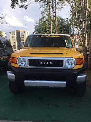 Toyota Fj Cruiser 3p Premium Aut A/a Ee Ra Abs 4x