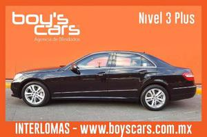 Mercedes Benz E500 Avantgarde  Blindado Nivel 3 Plus