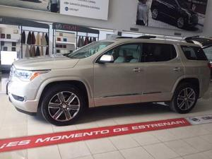 Gmc Acadia  Color Champagne Demostrador