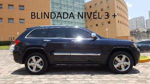 Jeep Grand Cherokee Overland 4x4 Blindada Nivel 3 Plus