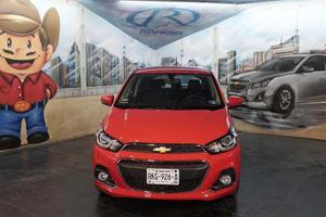 Chevrolet Spark Ng Automático Rojo