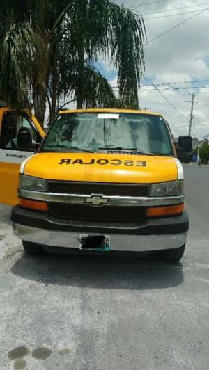 Transporte Escolar, Camioneta Chevrolet