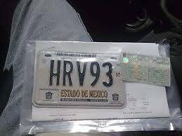 placas de cd de mexico y estado de mexico