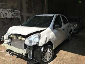 Nissan March  Siniestrado,reparar, Aseguradora
