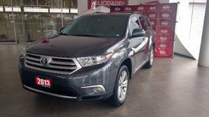 Toyota Highlander Premium Piel Qc