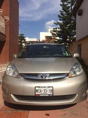 Toyota Sienna Xle Limited Auto/piel/dvd