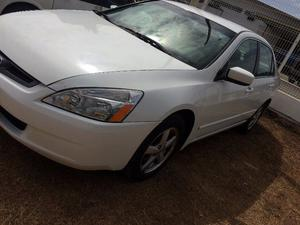 Honda Accord EX  Blanco