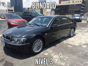 Bmw Serie 7 Blindado Nivel 3
