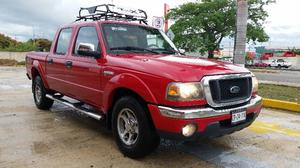 Ford Ranger XLT , Doble cabina, 4 cilindros, Unica