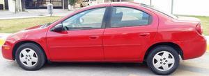 Dodge neon  SE Rojo aut ac