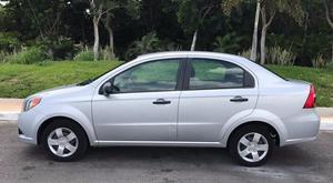 Chevrolet Aveo  impecable con clima