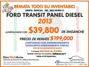 Ford Transit Carga p Van Larga Diesel