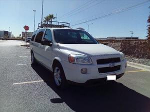Chevrolet Uplander LT Ext, Piel. 100% MEX