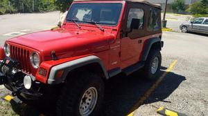 Jeep wangler 4*4