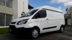 Ford Transit 2.2 Van Larga Techo Alto Aa Custom Mt