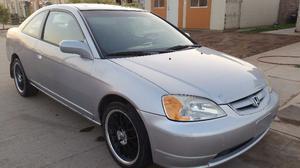 Honda Civic Coupé EX  Nacional con baja de placas.