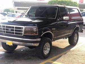 Ford Bronco 4x4 Mexicana