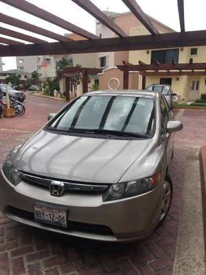 Honda Civic Lx Sedan 5vel Mt