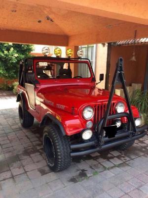 Venta de Jeep Wrangler 4x4 Rojo cj
