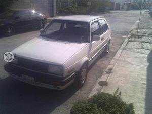 Volkswagen Golf blanco perla,modelo 92, standar, 5