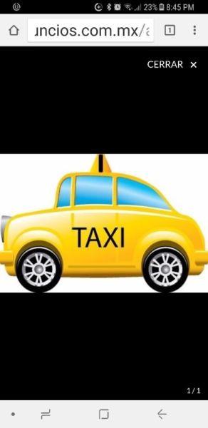 Vendo Permiso de Taxi