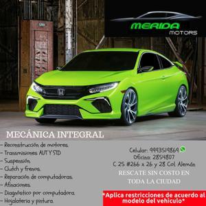 taller automotriz // mecánica integral Mérida motors