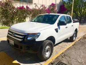 Ford Ranger  Pickup Xl Doble Cabina 4 Cil Clima Nueva!
