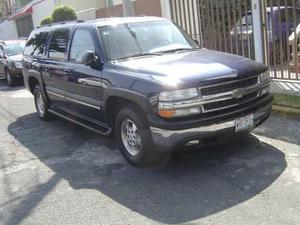Chevrolet Suburban M Piel Aac At,  Blindada