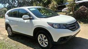 Honda Cr-v 2.4 Ex Premium  Camioneta Blanca Oaxaca