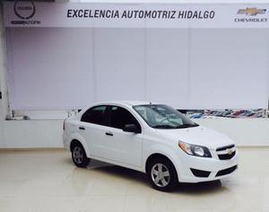 Chevrolet Aveo  Ls, Automático, Bolsas De Aire, Hgo.