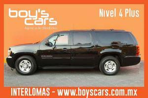 Unidad Blindada Chevrolet Suburban Negra  Nivel 4plus