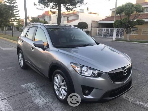 Mazda cx5 unica dueña piel quemacocos gps