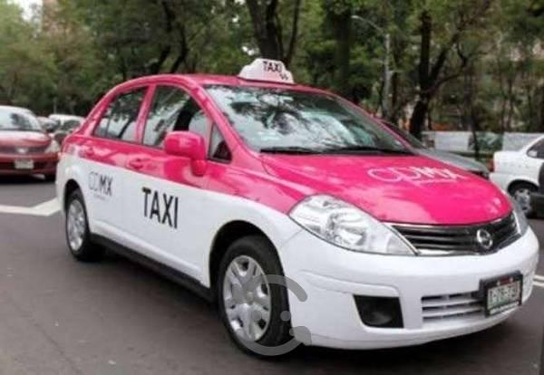 Tiida  taxi o solo placas